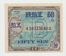 JAPAN 50 SEN 1945 UNC NEUF Pick 65 - Japan