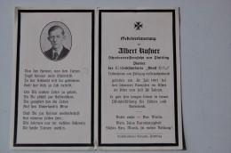 Avis De Décès Allemand - Sterbebild - Pionnier Xx  (BE) RARE - 1939-45