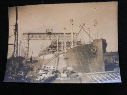 Photo 17 X 12 Cm Circa 1920 Paquebot Aramis  -- Bordeaux NW43 - Boats