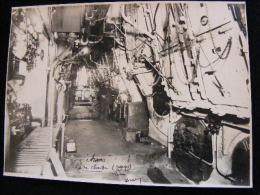 Photo 23 X 17 1923 Paquebot Aramis Rue De Chauffe  -- Bordeaux NW43 - Bateaux
