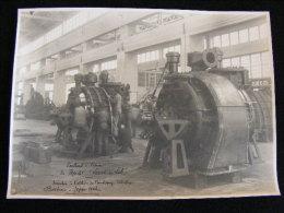 Photo 23 X 17 1923 Ateliers Chantiers De La Gironde  Bordeaux Turbines à Vapeur Paquebot Leconte De Lisle NW43 - Boats