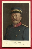 EXM-07 Oberst Dietler  Kommandant Der Gotthard-Befestigung.  Militär, Militaire. Nicht Gelaufen - Suisse