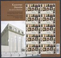 Belgie**CONCENTRATIE KAMPEN MUSEUM-VEL/SHEET 10vals-2014-CONCENTRATION CAMPS - Stamps
