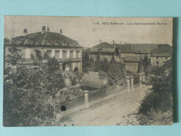 BONCOURT - Les Etablissements BURRUS - JU Jura