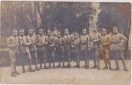 Carte Photo,militaire Français En Allemagne , 21  Décembre 1924,forces Françaises à Diez,dietz,métier,servirE La FRANCE - Métiers