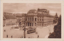 SLOVAQUIE,SLOVAKIA,SLOVEN IJA,BRATISLAVA EN 1926,tram,rond Point - Slovaquie