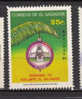 ##14, Salvador, Noël, Christmas, église, Church, Cloche, Bell - El Salvador