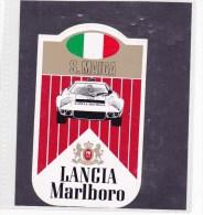 Marlboro Sticker - Lancia S. Maiga - Automovilismo - F1