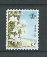 Seychelles 1993 5 R Vanilla Flower Definitive FU - Seychelles (...-1976)