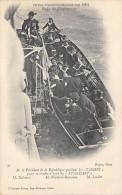 59 DUNKERQUE LE PRESIDENT QUITTANT LE CASSINI FETE FRANCO RUSSES 1901 - Dunkerque