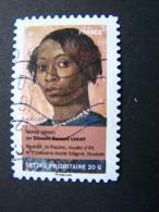 FRANCE OBLITERE 2012 N°680 EDOUARD BARNARD LINTOTT SERIE CARNET PORTRAITS DE FEMMES DANS LA PEINTURE AUTOCOLLANT ADHESIF - France