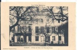 LORRAINE - 54 - MEURTHE ET MOSELLE - NOMENY - Villes Martyres - Hôtel De Ville Et Place Des Ormes - Nomeny