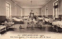 69 SAINT-GENIS-LAVAL  Asile Ste Eugénie Une Salle Du Pavillon Perret - Other Municipalities