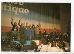 CAMPAGNE POUR L´ÉLECTION PRÉSIDENTIELLE 1981 . 30 Mars. François Mitterrand. Réunoin à Strasbourg - Réf. N°8661 - - Partis Politiques & élections