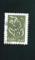 N° 3756 France 2005 Marianne Lamouche   0.64€ Oblitéré - 2004-08 Marianne Of Lamouche