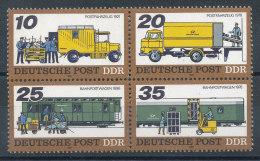 1969 à 1972** Transport Postal (Timbres Se Tenant) - [6] Democratic Republic