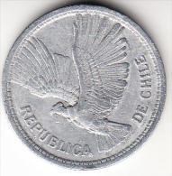 CHILE 1950   10 PESOS  . CONDOR EN VUELO . EBC  .  CN4252 - Chile