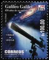 Bolivia (2014) - Set -   /  Espace - Space - Galaxy - Galileo Galilei - Telescope - Space