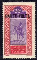 Haute Volta  N ° 10 XX  35 C. Rose Et Violet  Sans Charnière, TB