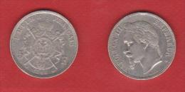 NAPOLEON III  ---   5 FRANCS 1868 BB   --  ETAT  TTB  --  1  COUP TRANCHE - J. 5 Franchi