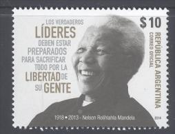 Argentina (2014) - Set -  /  Nelson Mandela - Nobel - Nobel Prize Laureates