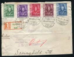 UNITED STATES TRANSATLANTIC SEAPOST MARITIME 1935 - Postal History