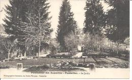 PENSIONNAT DES AUGUSTINS. PONTARLIER. LE JARDIN. - Pontarlier