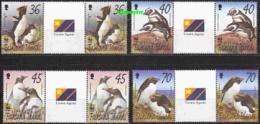 Falkland Islands 2002 WWF/Penguins 4v Gutter Pair ** Mnh (20670) - Falklandeilanden