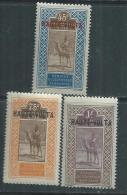 Haute Volta  N ° 12 + 14 / 15  X Les 3 Valeurs Trace De Charnière, Sinon TB - Obervolta (1920-1932)