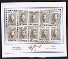 """Année 1972 COB F1627/1635**  Feuillets De 10  - """"Belgica 72"""" Au Heysel - Cote 65,00€ - Panes"""