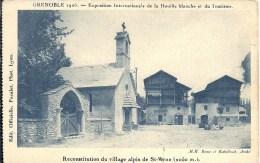 RHONE ALPES - 38 - ISERE - SAINT VERAN - Village Reconstitué Pour Exposition De Grenoble 1925 - Saint-Vérand