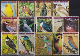 1254(1). Equatorial Guinea, 1974/6, Birds, Used (o) - Guinée Equatoriale