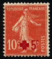 FRANCE 1914 - Yv. 146 *   Cote= 6,00 EUR - Croix-Rouge. Semeuse Avec Surcharge ..Réf.FRA26657 - Francia