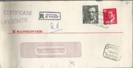 ESTEPONA MALAGA CC CERTIFICADA SELLOS BASICA JUAN CARLOS I - 1981-90 Cartas