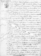 ACTE De VENTE  Daté Du 22 Mars 1805  -  Commune De YVIGNAC Et  LA  BOUEXIERE En YVIGNAC  - Acte Authentique - Vieux Papiers