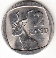 SUDÁFRICA. 1989    2 RAND  .GACELA. NUEVA SIN CIRCULAR CN4253 - Sudáfrica
