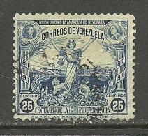 VENEZUELA 1910 Michel 86 Unabhängigkeit O - Venezuela