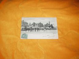CARTE POSTALE ANCIENNE CIRCULEE DE 1903. / DEAUVILLE.- LA PLACE MORNY. / CACHETS + TIMBRE - Deauville