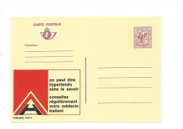 Publibel Neuve N° 2627 ( Hypertensie - Hypertension, Santé, Medecins) - Interi Postali