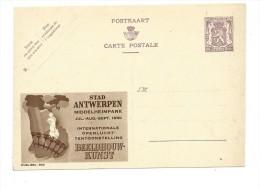 Publibel Neuve N° 900 ( Stad Antwerpen  Parc Middelheim Expo 1950) - Interi Postali