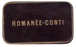 Etiquette Romanée  Conti - Fin XIXème - TOP RARE !!! Litho Chromo En Superbe état - Bourgogne