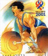 2001 Malaysia - XXI Sea Games - Pesistica