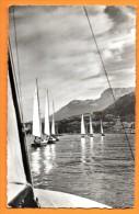 U.N.F. Union Nautique Française. Centre Colbert. Argonautes En évolution Sur Le Lac D´Annecy. 1954 - Segeln