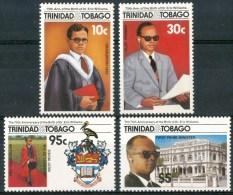 1986 Trinidad & Tobago 75°de La Naissance Du Docteur Eric Williams Set MNH** B494 - Trindad & Tobago (1962-...)