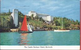 --THE CASTLE HARBOUR HOTEL BERMUDA -- 1955 -- TIMBRES - Bermudes