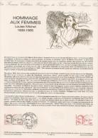 France - Souvenir Hommage Aux Femmes - Louise Michel - 1986 - Format A4 - YT 2408 - France