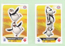 """Vignettes """"Les Pingouins De Madagascar"""" N° 76, 77 - Cinemania"""