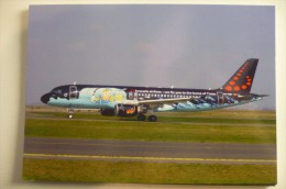 BRUSSELS AIRLINES   AIRBUS A 320 214   OO SNB   COULEURS TINTIN - 1946-....: Ere Moderne