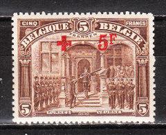162*  Croix-Rouge - UNE des 2 bonnes valeurs - MH* - Petites taches de rouille - LOOK!!!!
