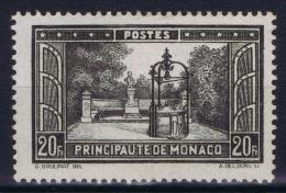 Monaco: 1933 Mi Nr 136  Yv Nr 134 MH/* - Neufs